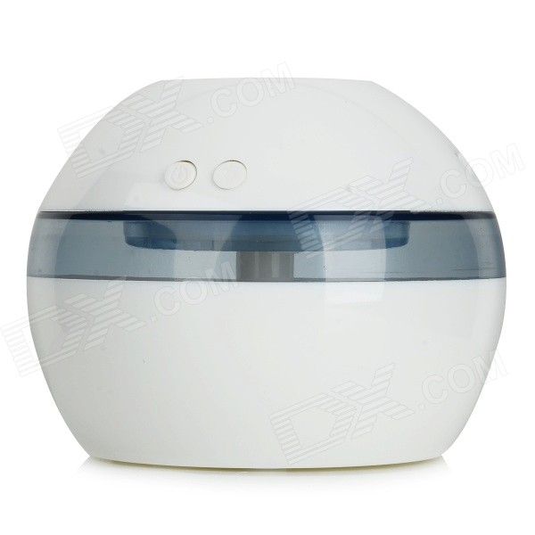 TS-1001A USB Powered Ultrasonic Atomization Air Freshener Humidifier - White + Transparent (DC 5V)