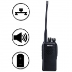 Baiston TD-830 / G1 16CH 5W 400 ~ 470MHz Professionelle Walkie Talkie w / DPRM Digital Mode, FDMA - Schwarz