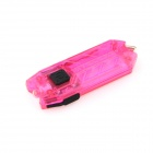 NITECORE TUBE 45LM 2-Mode Super Bright USB Rechargeable White LED Key Chain - Deep Pink