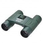 JInJuLi 8x22 Portable Water-Resistant Pocket FMC Green Film HD Binoculars Telescope - Dark Green