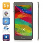 "Jiake V12 Android 4.2.2 Quad-Core WCDMA Bar Phone w / 5,5 ""IPS QHD, FM, GPS, 8 GB ROM - Schwarz"