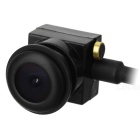 "Mini 1/4"" CMOS HD Grande Angular 5.0MP CCTV Câmera - Preto (600Line / NTSC)"