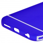 Hat-Prince Protective TPU Back Case with Detachable Plastic Frame for IPHONE 6 PLUS - Blue