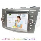 "LSQSTAR ST-7124C 7 ""Android Auto DVD-Player w / 8 GB ROM, 1 GB RAM, GPS, Wi-Fi, Radio für Swift / Ertiga"