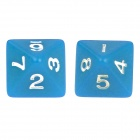 Table Game 15-20mm D4 D6 D8 D10 D12 D20 Dice for Dungeon Dragon - Blue
