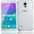 "No.1 N4 Android 4.4 Quad Core 3G Smartphone w/ 5.7"", 8GB ROM, Intelligent Wake Up, GPS - White"