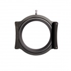 "LIPA Aluminum Alloy Filter Holder w/ 82mm Ring Adapter for 4"" Cokin Z Square Filter - Black"