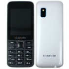 "H-mobile L5 Dual SIM Card GSM Phone w/ 2.4"", FM, Camera, Bluetooth, MP3, Keyboard, Quad-band - White"