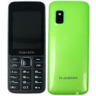 "H-mobile L5 Dual SIM Card GSM Phone w/ 2.4"", FM, Camera, Bluetooth, MP3, Keyboard, Quad-band - Green"