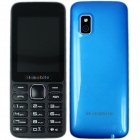 "H-mobile L5 Dual SIM Card GSM Phone w/ 2.4"", FM, Camera, Bluetooth, MP3, Keyboard, Quad-band - Blue"
