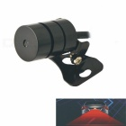 3W Rear-end Laser Tail Fog Light Auto Brake Parking Lamp Warning Light for Car - Black