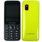 "H-mobile L5 Dual SIM Card GSM Phone w/ 2.4"", FM, Camera, Bluetooth, MP3, Keyboard, Quad-band -Yellow"