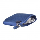 "Oushine Multi-functional Denim Storage Bag for 8"" Tablet / Mouse / Power Cable + More - Sapphire"