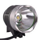 Buy SingFire SF-90 1000lm 4-Mode Cool White LED Bicycle Headlamp Set - Silver + Grey (4 x 18650)