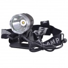 SingFire SF-90 1000lm 4-Mode Cold White LED Bicycle Headlamp Set - Silver + Grey (4 x 18650)