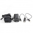 JX-2 Portable 8.4V 8000mAh Rechargeable 4-26650 Li-ion Battery Pack + Charger - Black