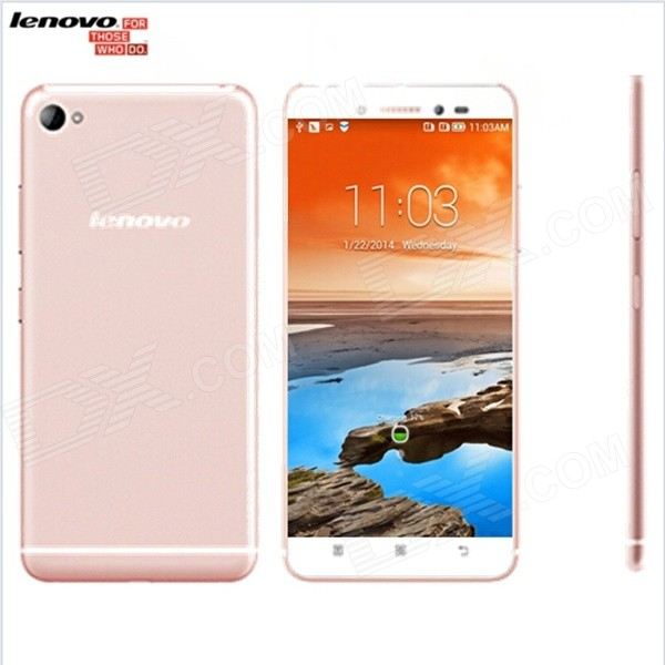 Lenovo Sisley S90 Android 4.4 Quad-core 4G Phone w/ 5 FHD, 16GB ROM, GPS, WiFi, BT - Pink vivo xplay3s x520a 6 quad core android 4 3 4g mobile phone w 32gb rom 3gb ram gps wifi white