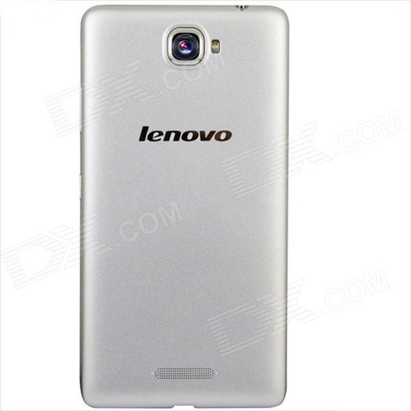 Lenovo S856 Android 4.4 Quad Core 4G Phone w/ 5.5, 8GB ROM, GPS, WiFi, BT, JAVA - Silver zooz n910f android 4 4 quad core 3g phone w 5 7 8gb rom gps bluetooth wifi black