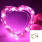 Ultrafire 6W 35000MCD Purple 100-LED Decorative Christmas Light Strip w/ US Power Adapter
