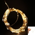 Ultrafire 6W 3200K 35000MCD Warm White 100-LED Decorative Christmas Light Strip w/ US Power Adapter