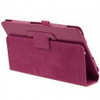 ENKAY Protective PU Leather Case w/ Stand for Sony Xperia Z3 Tablet Compact - Deep Pink
