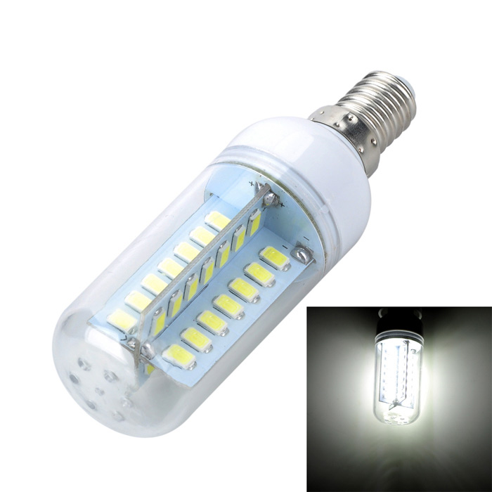 Marsing E14 10W LED Cold White Light Bulb (AC 220V)
