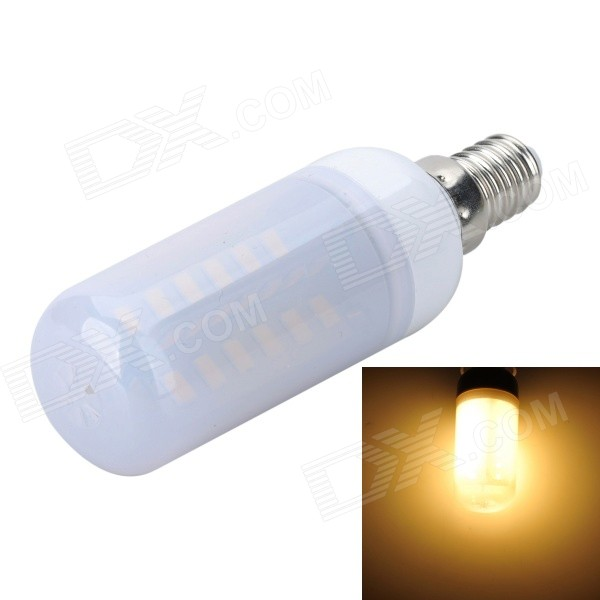 Marsing E14 Frosted Cross 10W 900lm 3500K 56xSMD 5730 LED Warm White Light Bulb Lamp (AC 220V) marsing e27 frosted cross 10w 900lm 3500k 56 smd 5730 led warm white light bulb ac 220 240v