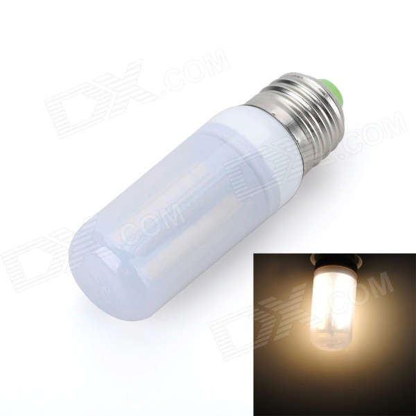 Marsing E27 Frosted Cover Cross 10W 900lm 3500K 56 x SMD 5050 LED Warm White Light Bulb (AC 220V) marsing e27 frosted cover cross 10w 900lm 3500k 56 x smd 5050 led warm white light bulb ac 220v
