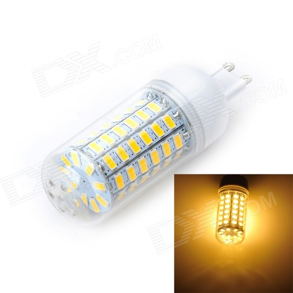 Marsing G9 12W 1200lm 3500K 69 x 5730 SMD LED Warm White Light Bulb (AC 220~240V) marsing e14 12w 1000lm 3500k 69 smd 5730 led warm white light bulb lamp ac 220 240v