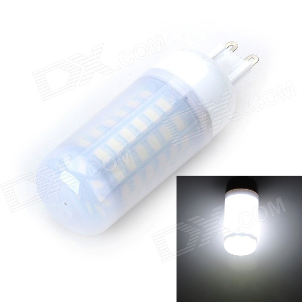 Marsing G9 12W 1200lm 6500K 69 x 5730 SMD LED Cool White Ampoule (AC 220 ~ 240V)