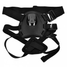 Adjustable Dog Pet Chest Shoulder Strap Mount for GoPro - Black