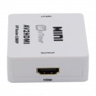 OTIME OT-M615 AV to HDMI Adapter w/ Up Scaler 1080P / 720P - White