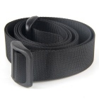 EDCGEAR Backpack Accessory High Intensity Nylon Tying Band w/ D Type Buckle - Black