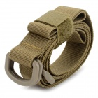 EDCGEAR Backpack Accessory High Intensity Nylon Tying Band w/ D Type Buckle - Sand Color