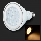 YouOkLight E27 12W 830lm 3200K 12-SMD 3030 LED Warm White Light Spotlight - Weiß (AC 100 ~ 240V)
