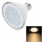 YouOkLight E27 12W 830LM 3200K 12 x 3030 SMD LED Warm White Light Spotlight - Weiß (AC 100 ~ 240V)
