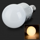 JR-LED E27 10W 700lm 3300K LED Warm White Light Bulb - Weiß + Silber (AC 85 ~ 265V)