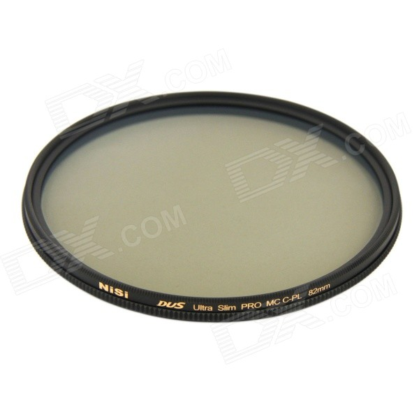NISI 82mm PRO MC CPL Multi-Coated Circular Polarizer Lens Filter for Nikon + Canon + More - Black benro 82mm pd cpl filter pd cpl hd wmc filters 82mm waterproof anti oil anti scratch circular polarizer filter free shipping