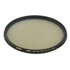 NISI 82mm PRO MC CPL Multi-Coated Circular Polarizer Lens Filter for Nikon + Canon + More - Black