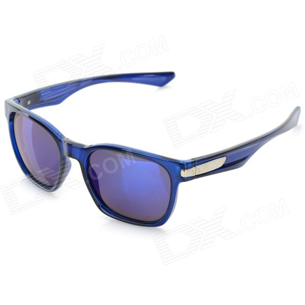 OREKA Fashion PC Frame Blue REVO PC Lens UV400 Sunglasses - Sapphire Blue