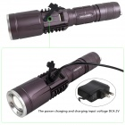 ZHISHUNJIA NHX-Y95 LED 900lm 3-Mode White Zooming Flashlight - Grey (1 x 18650 / 3 x AAA)