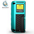 "Mileseey S6 60m Precision 1.8"" LCD Infrared Measuring Laser Rangefinder - Black + Blue (2 x AAA)"