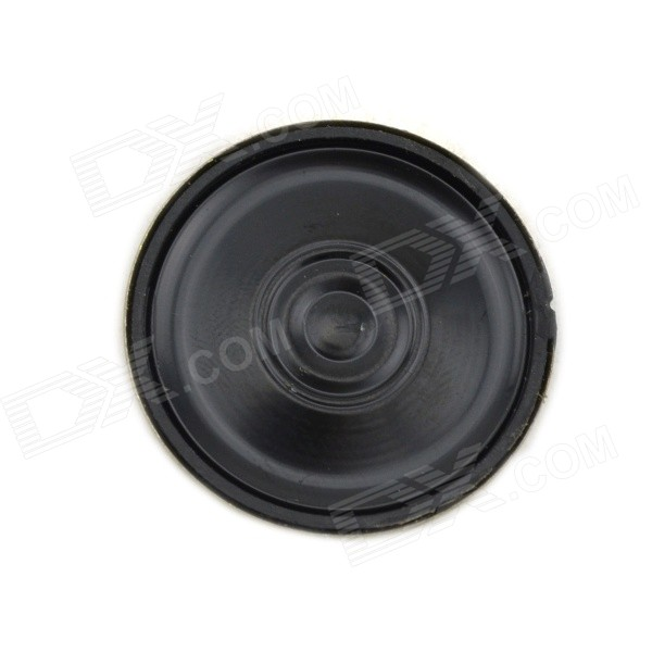 Jtron 8Ohm 0.5W 30mm DIY Speaker - Bronze + Black jtron 8 ohm 5 watt lcd tv speaker silver