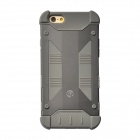 "GeekRover Armor Hybrid Metal + Silicone Case for IPHONE 6 4.7"" - Deep Gray + Gray"
