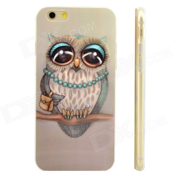 "Mignon Chouette Modèle de Protection TPU Cas de 4.7"" IPHONE 6 - Multicolore"