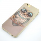 "Cute Owl Pattern Protective TPU Case for 4.7"" IPHONE 6 - Multicolored"