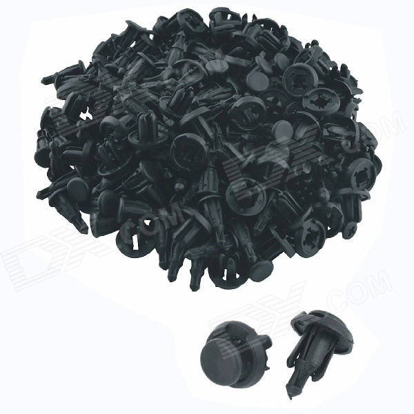 Car Plastic Rivets Fender Fasteners Clip - Black (100 PCS)Other Gadgets<br>Form  ColorBlackModelK088Quantity100 DX.PCM.Model.AttributeModel.UnitMaterialPlasticShade Of ColorBlackOther FeaturesFits 10mm hole.Packing List100 x Plastic Rivets<br>