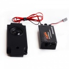 Throttle Linkage Sports Car Engine Sound Simulator w/ Speaker for R/C Aircraft - Black + Red