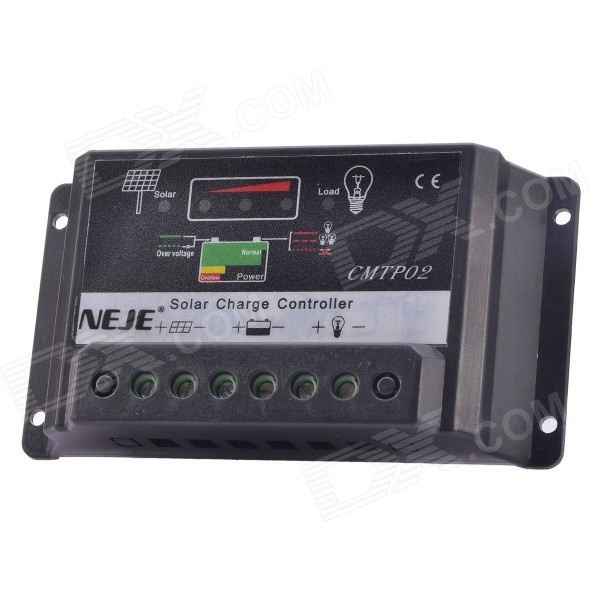 NEJE DG0009-5 12V/24V 30A Solar Charge Controller - Black 300 400ml min 24v dc jyy brand big ink pump for solvent printer with free shipping cost by dhl