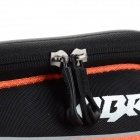 CBR Outdoor Cycling Bike Touch Screen Top Tube Bag - Black + Orange
